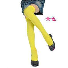 Women Cable Knit Extra Long Boot Socks Over Knee Thigh High School Girl Stocking   eBay Over Knee Socks, Thigh High Socks, Thigh Highs, Long Socks For Girls, Yellow Socks, Silk Stockings, Long Boots, Boot Socks, Thighs