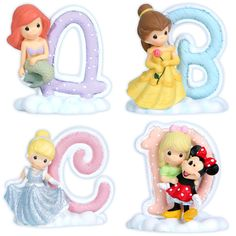 Precious Moments Disney Alphabet A-D