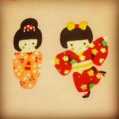 Detail of one of our chiyogami papers!