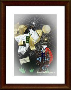 Lenda de Tanabata Matisuri, por Marcio Origamus - Grupo Origami Niterói.