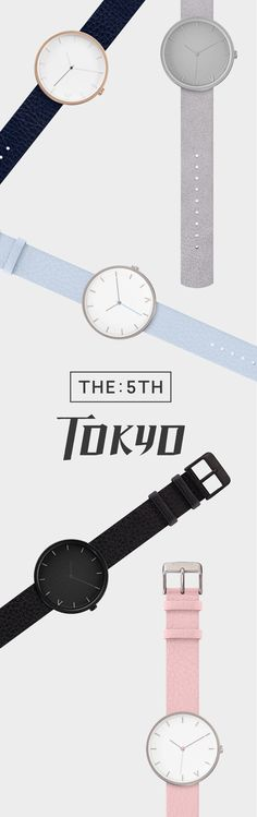 The *NEW* Tokyo range. Beat the rush and be the trend-setter. Get the Tokyo range first. Exclusively available once a month, for a limited 5 days only. Sign up today to ensure you don't miss out on the 5th next month. See more at www.the5th.co. Sign up to join the waitlist.