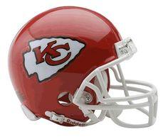 NFL Kansas City Chiefs Replica Mini Football Helmet by Riddell. $20.99. Riddell Kansas City Chiefs NFL Replica Mini Helmet w/Z2B Mask