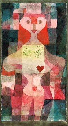 Paul Klee - Herzdame