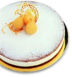 Peach Ricotta Cheese Cake
