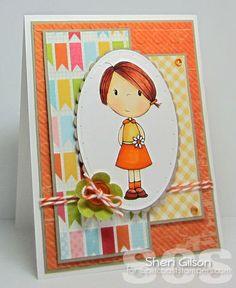 By LORi Designs Digi Shop - Puddle Jumpers Maxie ©Lori Boyd Card Designer: Sheri Gilson