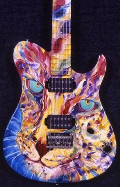Guitar and bass details. These are the rating statistics for each of the acoustic guitars, electric guitars, guitars, basses. Custom Electric Guitars, Custom Guitars, Guitar Pics, Cool Guitar, Gretsch, Play That Funky Music, Jackson, Unique Guitars, Guitar Painting