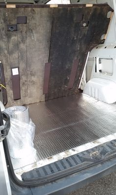 This is the story of how one man converts his sprinter van into a stealthy mini-motorhome. Buying a new Sprinter motorhome can cost you upwards of Cargo Trailer Conversion, Sprinter Van Conversion, Camper Conversion, Sprinter Motorhome, Mini Motorhome, Ford Transit Connect Camper, Camper Flooring, Floor Insulation, Sleeping Under The Stars