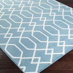Surya Horizon Ivory/Slate Geometric Area Rug & Reviews | Wayfair