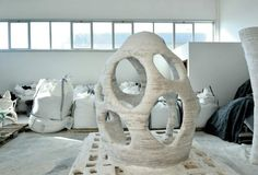 Giant 3D printer can print buildings (theoretically)