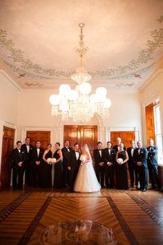 Washington Dc Wedding Ceremony 275x413 Elegant Black Tie In Cathryn