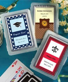 75c41564fee8 Find Personalized Expressions Playing Card Favors with quantity discounts  here