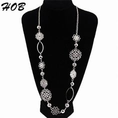 What you get is what you see  Only $ 4.97 &FREE Shipping Worldwide  Get it here --->http://www.honestgem.com/product/alloy-layered-silver-sweater-chain/ //   #honestgem #jewelry