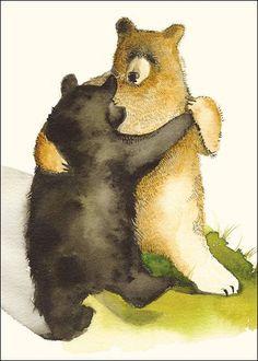 Bear Waltz Anniversary Card