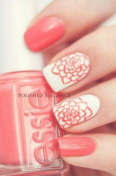 nail art summer colors