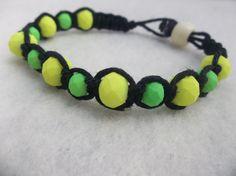 Hemp bracelet // rasta hemp bracelet // braided by CaliGirlCustoms, $12.99