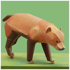 Bush Dog - | Paper Crafts(Origami) - Entertainment | YAMAHA MOTOR CO., LTD.