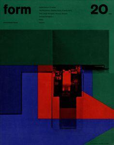 form N° 20. 1962. Cover: Karl Oskar Blase. © Verlag form GmbH & Co. KG