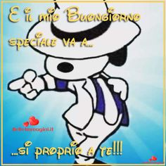 Buongiorno-speciale-snoopie-immagini-whatsapp Charlie Brown And Snoopy, Day For Night, Funny Moments, Smurfs, Good Morning, Hilarious, Cartoon, Fictional Characters, Peanuts