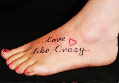 27 Seductive Foot Tattoos For Girls For 2013   Creative Fan