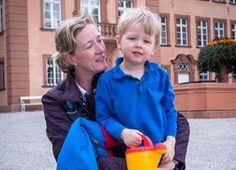 Konstantin Johannsmann, 4 ans, né en 2010, Arrière-petit-fils du roi Frederik IX de Danemark