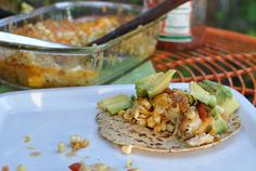 Tex-Mex Chicken With Cheese and Chiles. Serve with tortillas. Yum