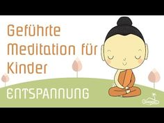 Guided meditation for children to relax, relaxation and fantasy trip for children - Yoga Fitness Ideas Guided Meditation, Meditation Kids, Meditation Musik, Kindergarten Portfolio, Baby Massage, Happy Minds, Yoga For Kids, Children Exercise, Love My Kids