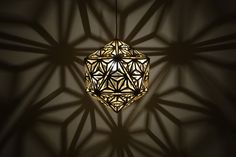 Asanoha Pendant Light