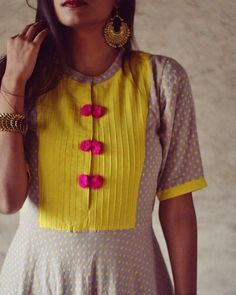 Salwar Neck Designs, Neck Designs For Suits, Churidar Designs, Kurta Neck Design, Neckline Designs, Dress Neck Designs, Simple Kurti Designs, New Kurti Designs, Kurta Designs Women
