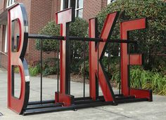 bike rack art | New bike racks practical, thoughtful public art