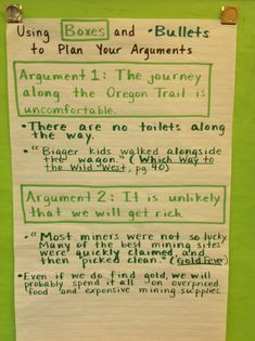 argumentative essays anchor charts anchor  argumentative essay boxes and bullets chart