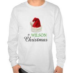 A WILSON Christmas Shirts