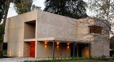 Gallery of House MP / Estudio GMARQ - 1 Ground Floor Plan, Commercial Architecture, Patio, Facade House, Minecraft Houses, House Plans, Villa, Floor Plans, Yard