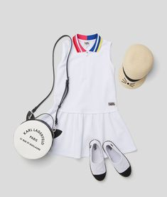 KARL LAGERFELD KIDS SS 2020 Karl Lagerfeld Handbags, Karl Lagerfeld Kids, Tennis Dress, Collections, Clothes, Shopping, Dresses, Baby, Fashion