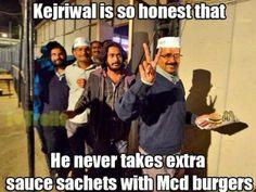 Saw Arvind Kejriwal today,here he is #Desijokes #jokes #india #indianPJ #Comedy #humor #fuunyindia #fun #smile #delhi #kantinathbanerjee #laugh #indianjokes #satire