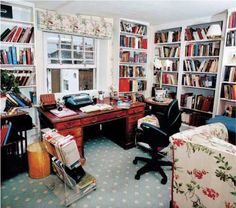 Writers' rooms: Antonia Fraser. I've lived in this house since 1959 and this was my six children's nursery. The instant my youngest son moved out, I had the builders in, installing numerous bookcases...My typewriter is electric and so ancient that other typewriters have to be cannibalised when it needs mending. I also use scissors and Sellotape to make corrections and insertions: it's a tactile thing.