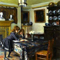 Dining room of John Singer Sargent