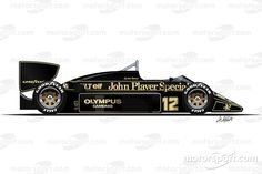 1985 - Lotus 97T4th place / 2 wins / 38 points
