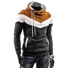 Mænds Casual Fashion Hoodie