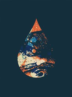 just a drop in the sky #graphic #design