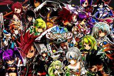 Elsword - All charcter & All Jobs