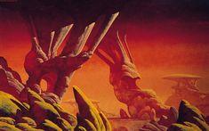 70s scifi landscape - Google Search