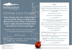 Why not join us for your Christmas Party this year!