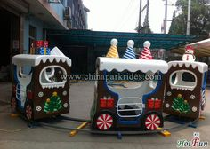 Christmas train rides for sale sales@chinaparkrides.com +86-15716483771 www.chinaparkrides.com