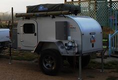 Moby1 Expedition Trailer - I might even consider camping if I had one of these...