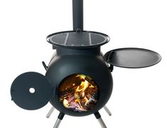Ozpig Charcoal BBQ and Wood Burner