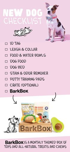 BarkBox is a monthly themed box of fun toys and all-natural treats and chews for your pup. Plans start at $20/month and are customized based on #dog size. Get started on BarkBox.com!