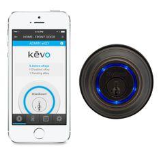 Kwikset Kevo Wireless-Enabled Deadbolt Lock - Apple Store (U.S.)
