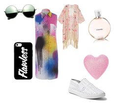 """""""Call me maybe #3"""" by maia-samoa ❤ liked on Polyvore featuring Chanel, Steve Madden, Melissa McCarthy Seven7, Christopher Kane, Revo and plus size clothing"""