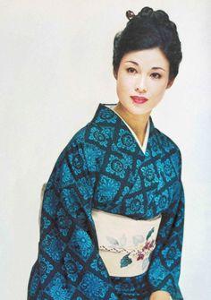 Ayako Wakao 若尾文子 1960's, Japan (Pinterest scan)