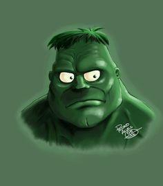 #Hulk #Fan #Art. (HULK Comic Cartoon) By: Propsa-Art. ÅWESOMENESS!!!™ ÅÅÅ+